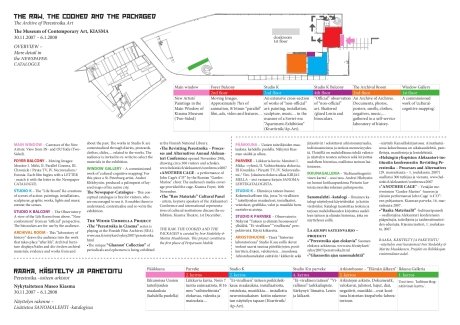 Map of the Exhibition and Related Events (download link above)